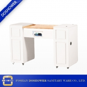 China manicure bar table with marble manicure table and nail manicure table fan manufacturer