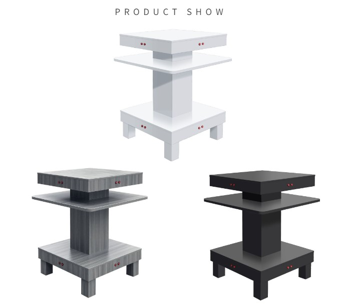 New modern nail drying table station for sale round rotating nail dryer table wholesale china DS-D2015