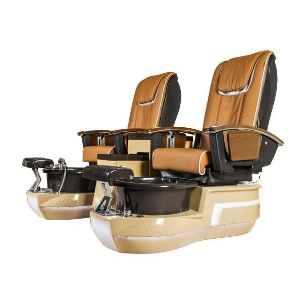 Best price double pedicure chair new nail spa salon chairs of pedicure station