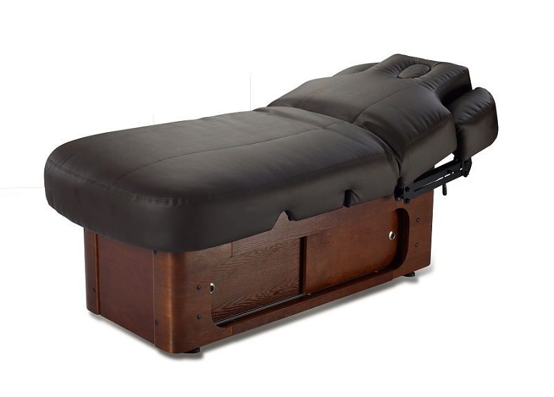wooden massage bed supplies with professional spa massage table bed of luxury massage table