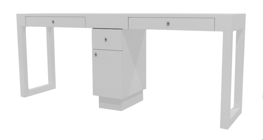 cheap nail salon table with modern white double manicure table cheap nail table