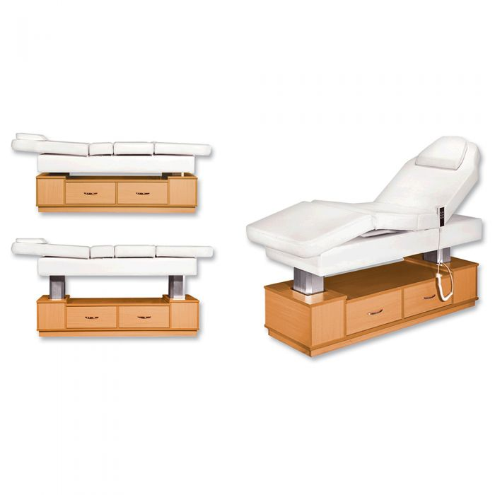 Electric massage table with facail massage bed 3 motors massage bed manufacturer china DS-W1818