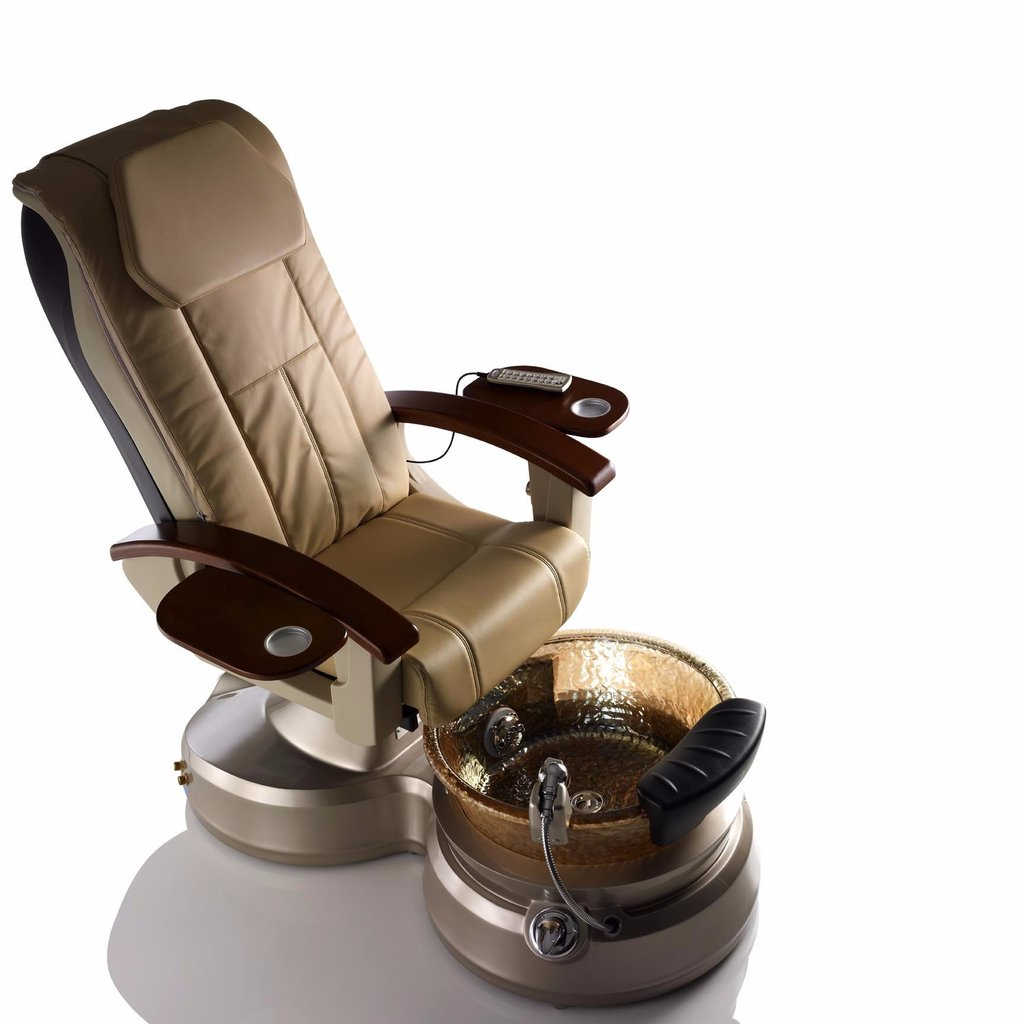 oem pedicure spa chair in china with Whirlpool Nail Spa Salon Pedicure Chair for pedicure foot massage base glass bowl / DS-BOWL3