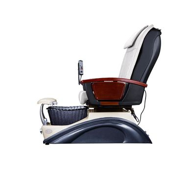 pedicure chair suppliers pu leather cover spa massage chair with full electric spa pedicure