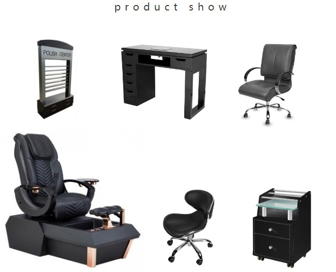 wholesale pedicure chair with manicure table set china spa pedicure chair package supplier DS-W1900 SET