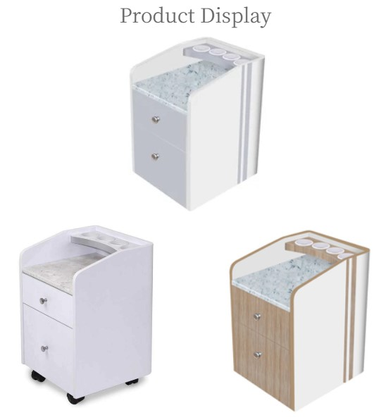 pedi cart salon waxing cabinet pedicure trolley spa salon furniture manufacturer china DS-PC220