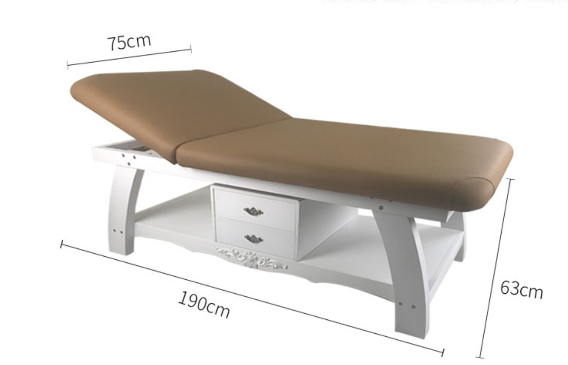 cheap wooden massage bed beauty bed supplier with spa equipment massage table spa bed manufacturer DS-M9003