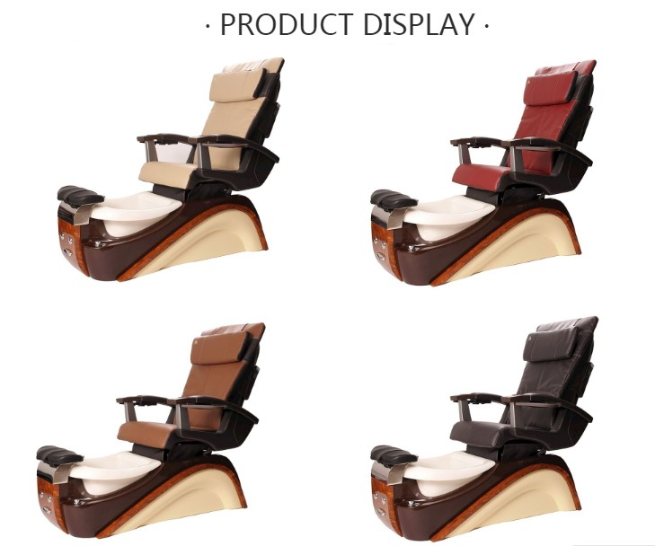 wholesale nail salon massage spa chair hot sale pedicure chair luxury with bowl for sale DS-T627