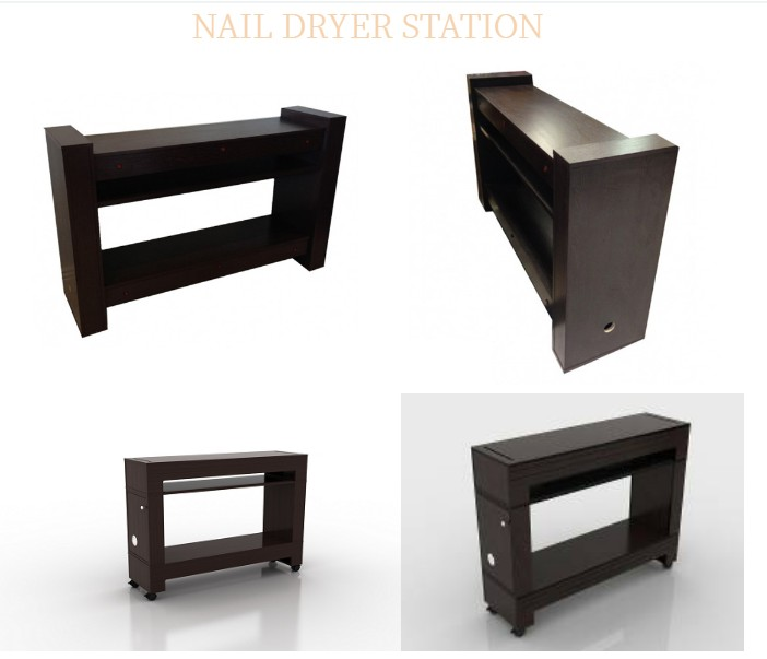 Nail Drye Table Hand Dryer Table with Manicure Pediucre Dryer Station Manufacturer China DS-D3