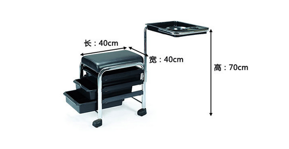 Trolley Spa salon trolley beauty hairdressing pedi trolley cart
