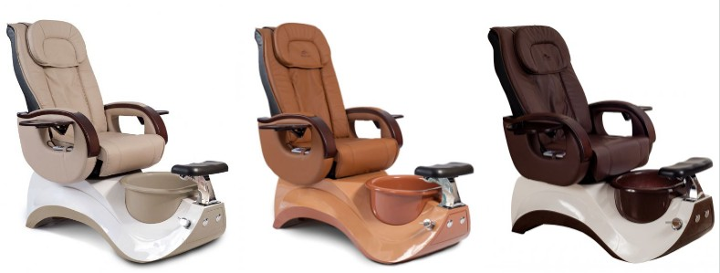 New Pedicure Chair Package Pedicure Spa and Manicure Table Nail Salon and Spa Package DS-S15D SET