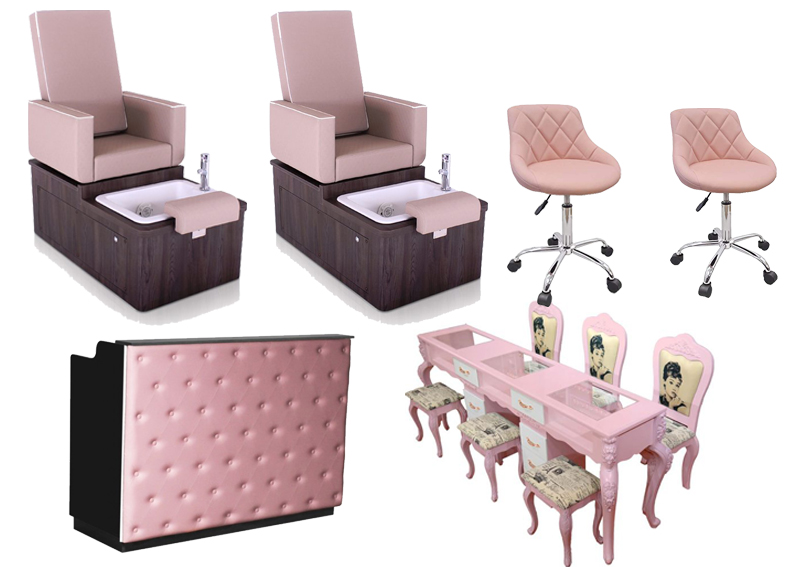 manicure pedicure sofa chair with no plumbing pedicure chair pipeless manufacturer china DS-W2054
