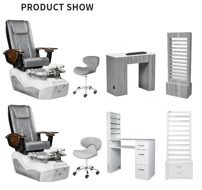 Best Salon Package Deal For Pedicure Chair with Manicure Table Salon Furniture Wholesaler DS-L1902 SET