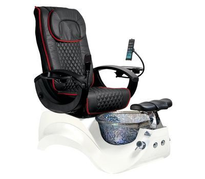 China Pedicure Chair Manufacturer 3 Pipeless Pedicure Spa with Glass Bowl Magnetic Jet pedicure chair for wholesale