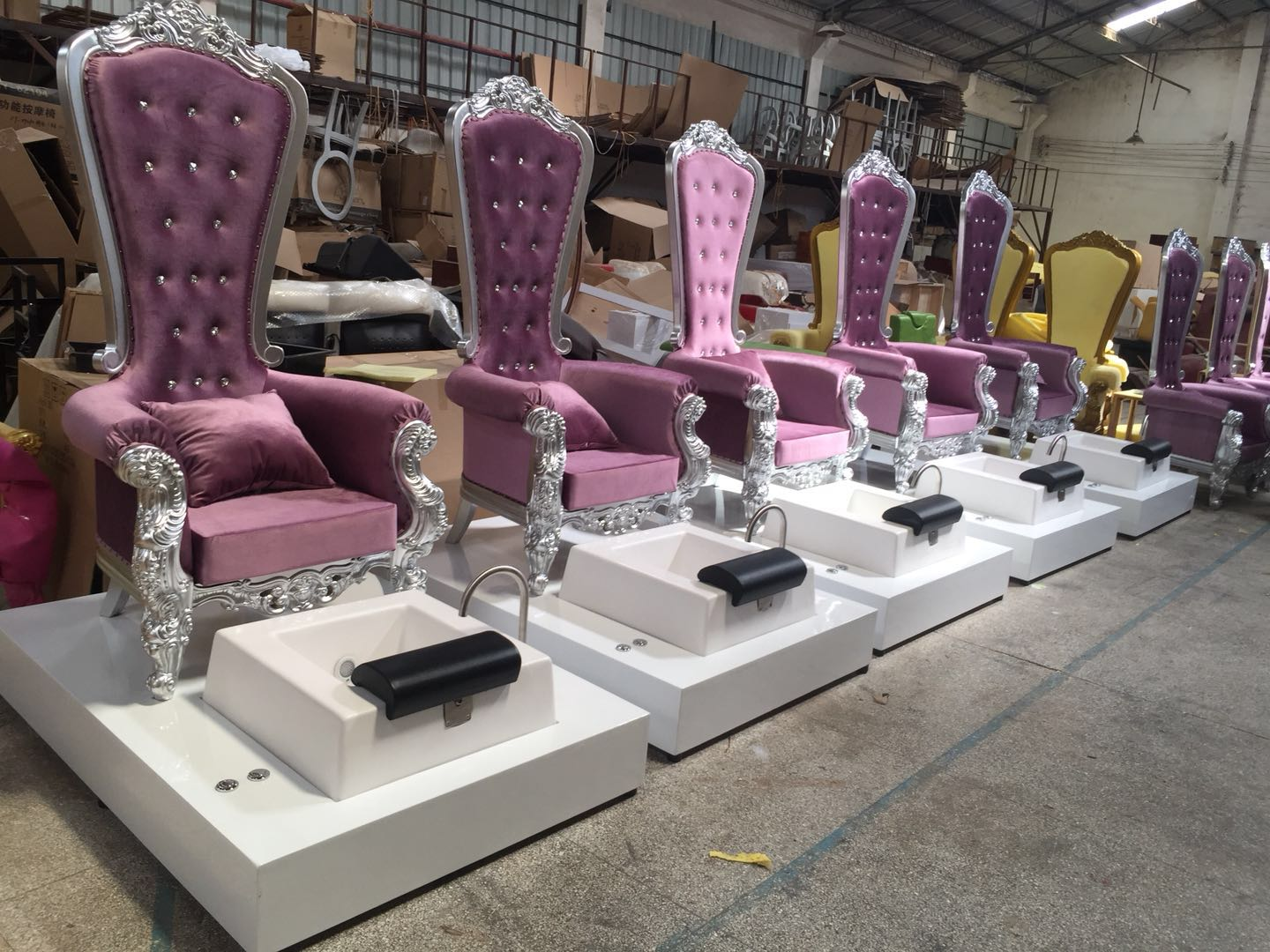 king throne chair wholesale with high back chair manufacturer china of china throne chair supplies DS-QueenA
