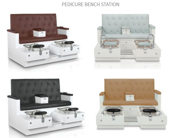 bench pedicure chair spa pedicure bench manicure pedicure salon package DS-W28 SET