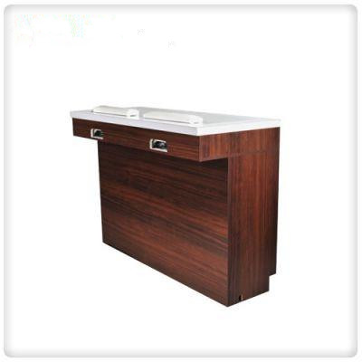 custom small nail table manicure table nail salon tables with dust collector wholesale DS-W18102