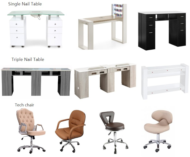 wholesale nail salon furniture
