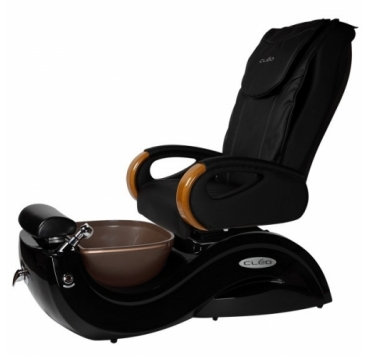 used pedicure chair spa pedicure chair with crystal bowl black salon massage chair