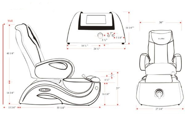 Doshower Pedicure Spa Chair with pedicure chair no plumbing china of Pedicure Chair Factory