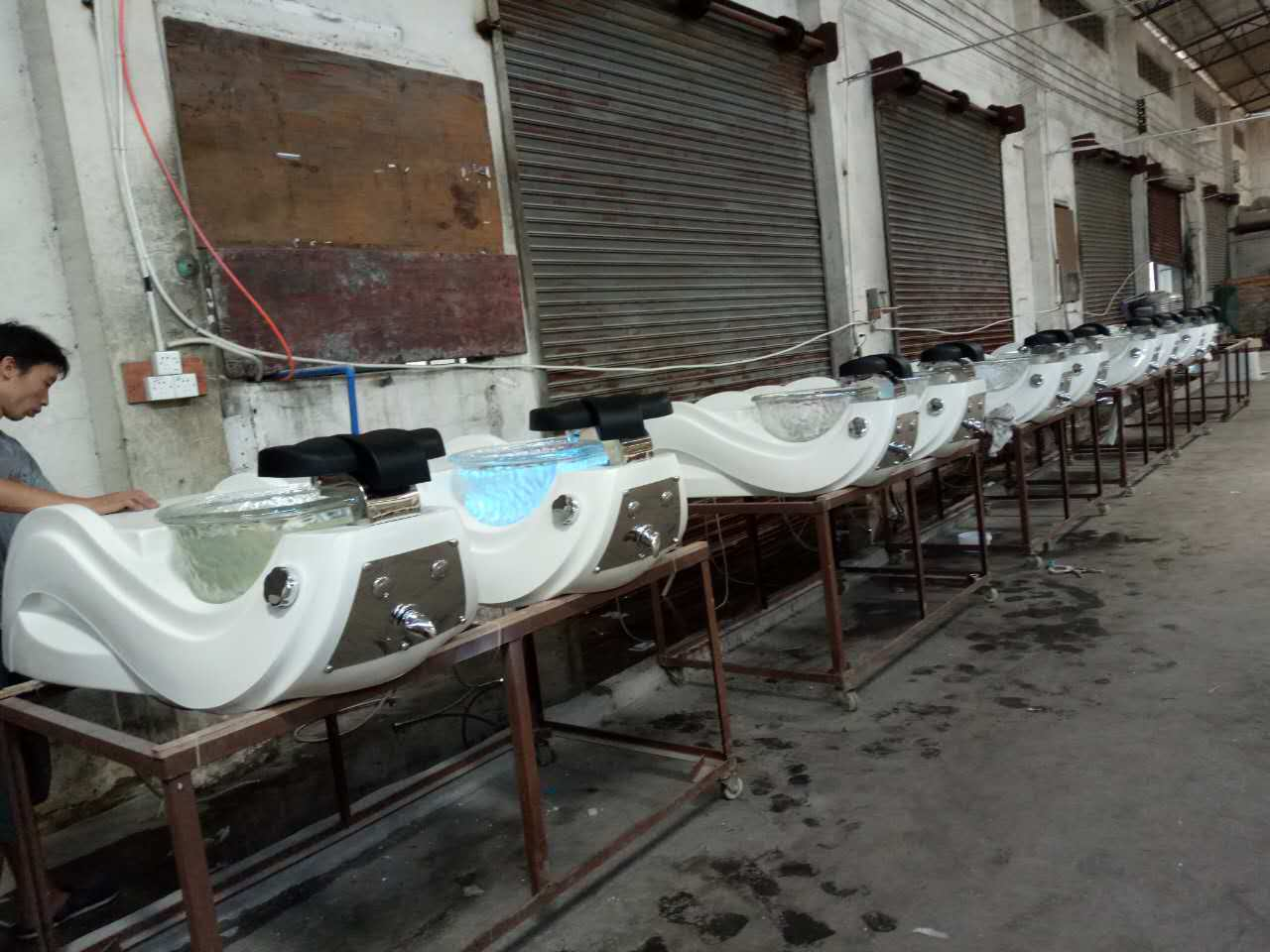 doshower pedicure chair factory china