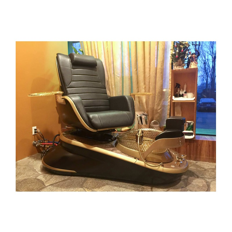 pedicure chair and manicure table set manufacturer china nail pedicure spa chair salon package DS-W1800A SET