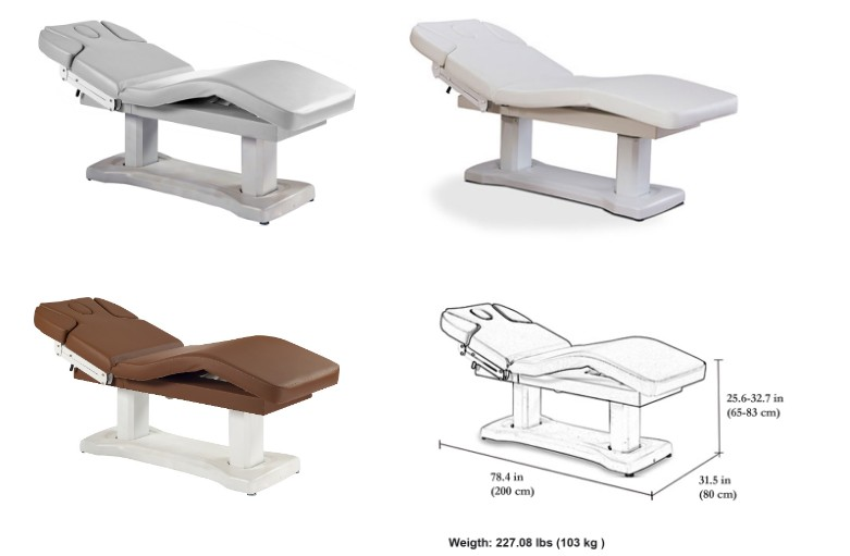 salon electric massage table electric treatment table china beauty bed massage bed wholesale DS-M14A