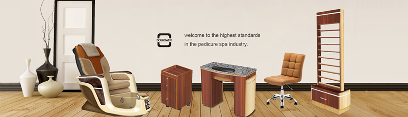 Marble Top with Wood Base Manicure Bar Table with Manicure Tables Nail Bars DS-W9525