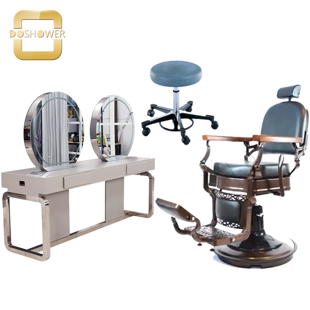 antique barber chair salon hydraulic barber chair hair salon chair  barber supplies china DS-B201