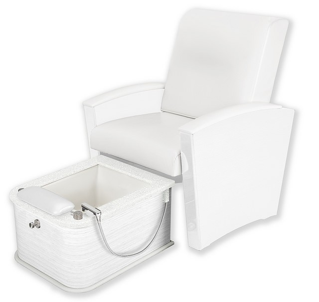 Pedicure Chair with Plumbed Footbath Spa Pedicure Chair of Salon Furniture