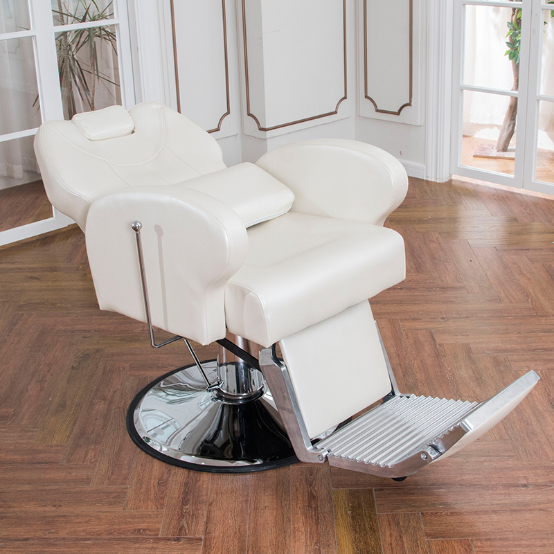 Best quality wholesale white barbershop barber chair beauty salon cheap price barber chair DS-T245