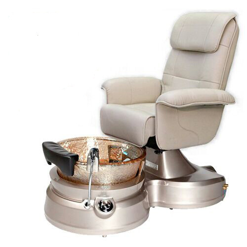 Body Massager Machine Chair Modern Luxury Spa Pedicure Chairs Pedicure Chair With Crystal Spa Tub