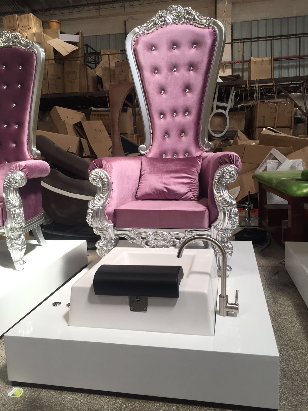 wholesale king throne pedicure chair high quality cheap king throne chair pedicure chair manufacturer DS-Queen D