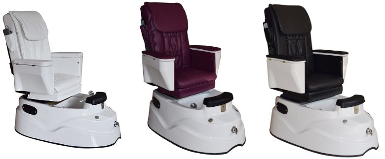 china pedicure chair manufacturer cheap spa pedicure chair with foot spa bath wholesale DS-12