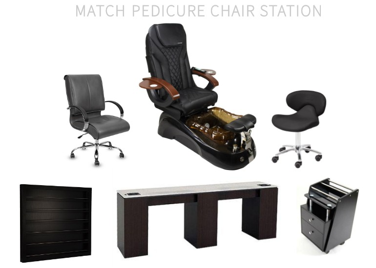 China PedicureChair Nail Gel Polish Salon Nail Spa Massage Chair Manufacturer and Factory DS-W91228