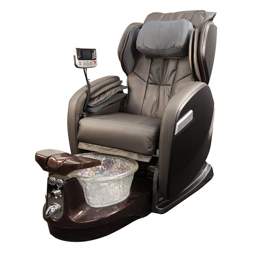 complete pedicure spa chair with hot sale wooden nail table tech chair wholesale china DS=W28A SET