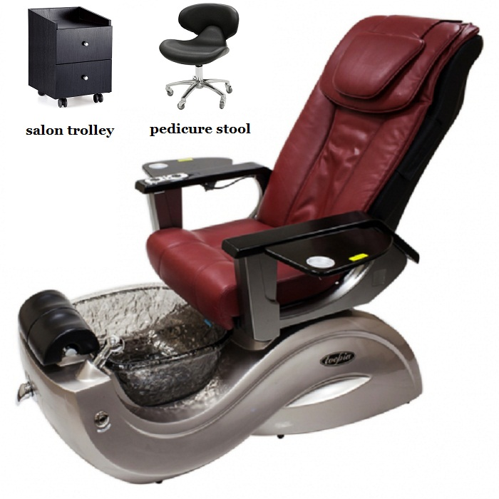 luxury spa pedicure chair new hot sale pedicure chair wholesale china for nail salon DS-S17D