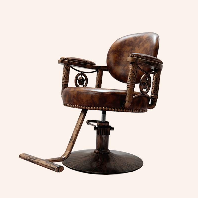 classic and antique barber chair hair salon equipment hair dressing