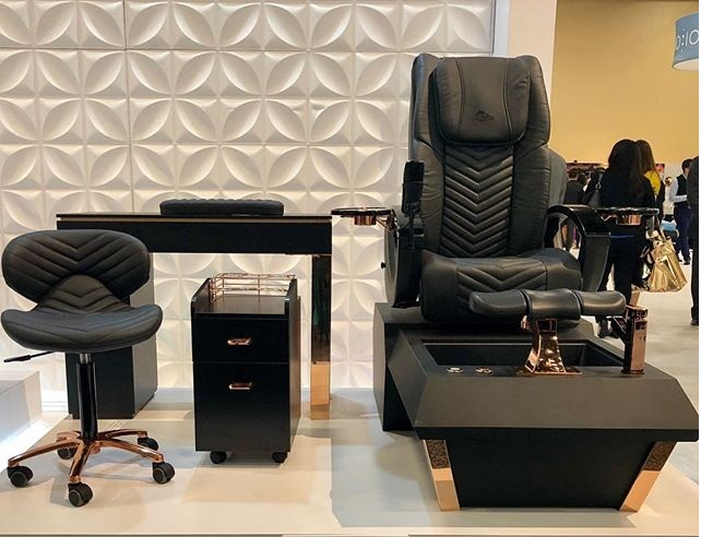 Pedicure Chair Manufacturer with Pedicure Massage Chair of Nail Furniture Factory