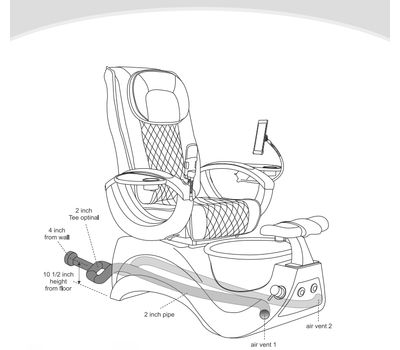 Pedicure Chair For Sale Foot Spa Massage Chair Wholesale Manicure Pedicure Chairs Supplier