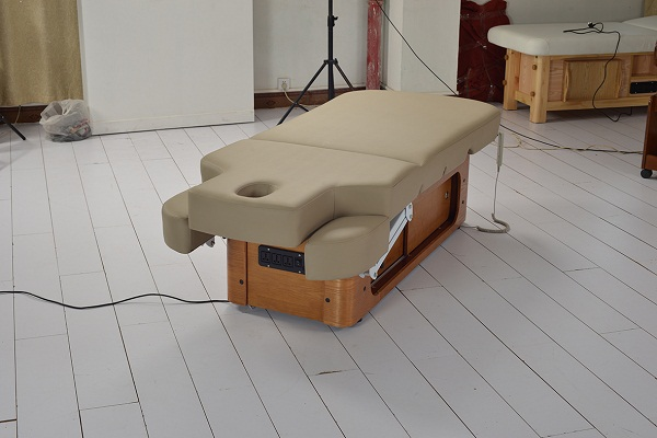 electric spa massage bed with high end environmentally PU leather massage beauty bed DS-M04A