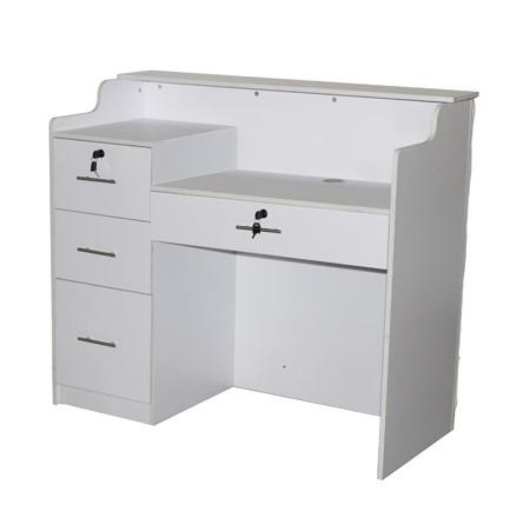 good price salon reception desk china cheap reception desk for sale DS-W1844