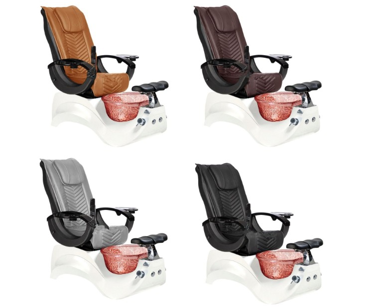 Pedicure chair luxury with massage high quality pipeless pedicure chair with jet nail salon chair wholesale DS-S16