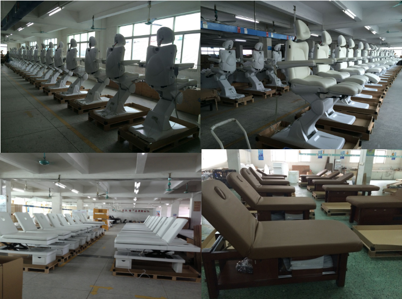 china massage bed factory