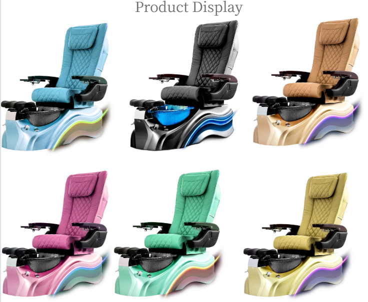 pedicure chair luxury manicure nail spa pipeless vintage pedicure spa chairs wholesale china DS-W2050