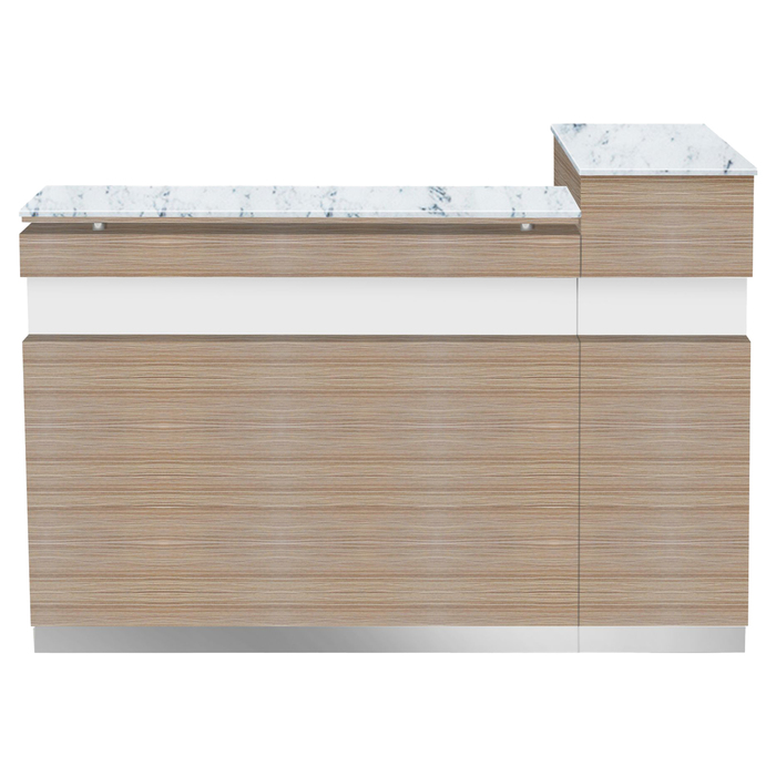 china reception desk counter nail salon reception desk front desk modern factory DS-R216