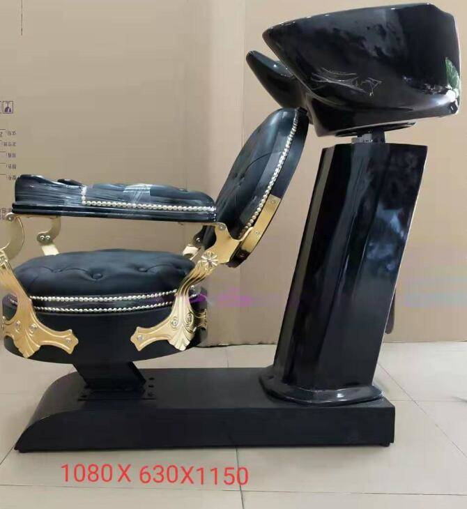 hair salon furniture backwash unit vintage shampoo chair with bowl wholesale china DS-S103