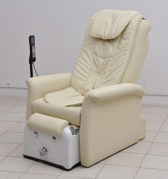 best quality pedicure spa chair white leather nail portable zero gravity spa massage chair
