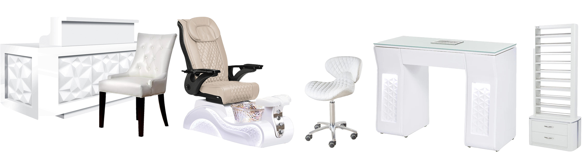 lux spa pedicure chairs new nail salon massage pedicure chair wholesale china DS-W2015