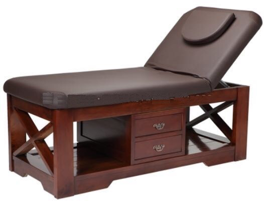 wholesale massage table hot sale full body massage bed strong heavy duty solid wood massage bed DS-M9009